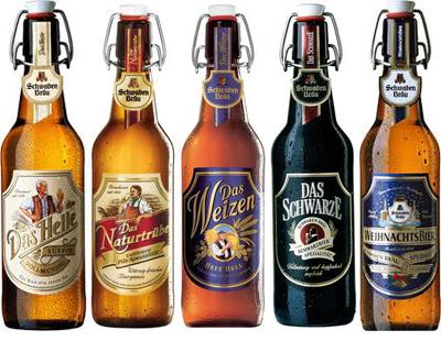 H σειρά γερμανικών μπυρών της Schwaben Brau που είναι ιδιαίτερα αγαπητή